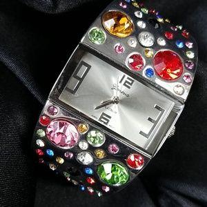 Beautiful GENEVA cuff watch